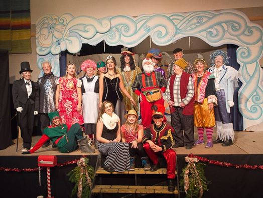 Cast and performers from 2013 holiday extravaganza Short Pants & Tall Tales