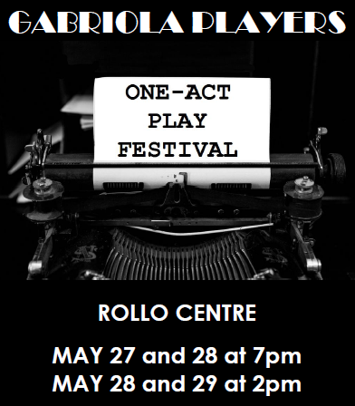 Audtions on Thursday for one-act play festival