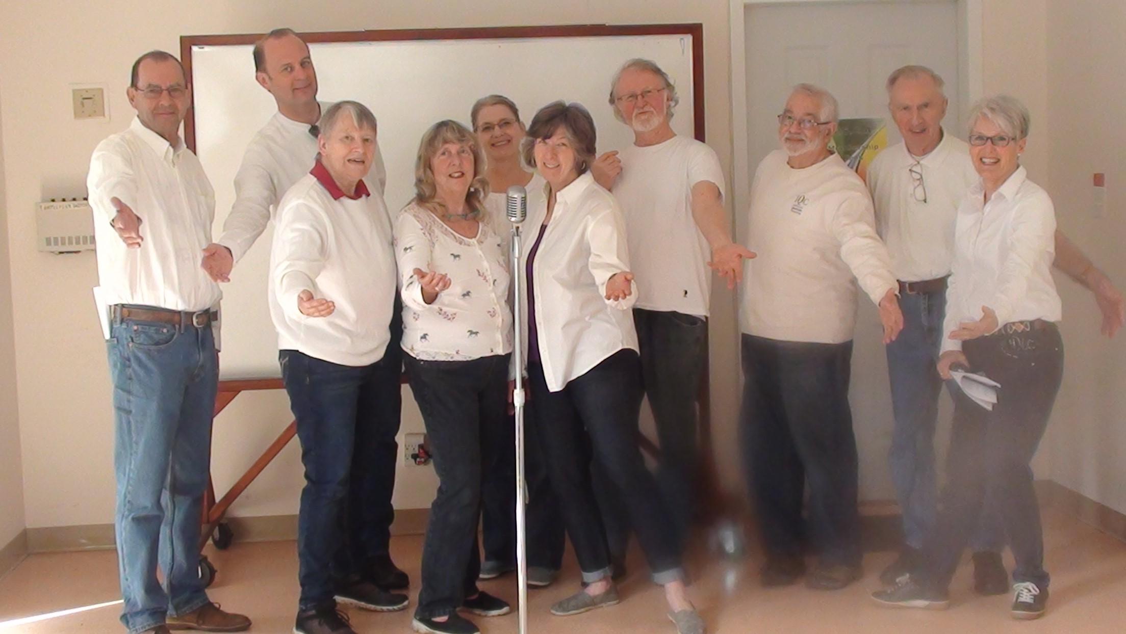 """Radiophiles"" entertain at Seniors' Luncheon"